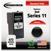 innovera: Innovera Remanufactured KX701 (Series 11) Ink, 472 Yield, Black