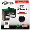 Innovera Innovera Remanufactured T0529/N5878 (Series 1) Ink, 335 Yield, Black IVR D5878B