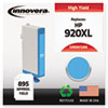 Innovera Innovera Remanufactured CD972AN (920XL) Ink, 700 Page-Yield, Cyan IVR D972ANC