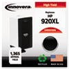 Innovera Innovera Remanufactured CD975AN (920XL) High Yield Ink, 1200 Page-Yield, Black IVR D975ANC