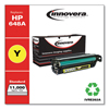 Innovera Innovera Remanufactured CE262A (648A) Laser Toner, 11000 Yield, Yellow IVR E262A