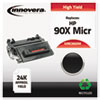Innovera Innovera Remanufactured CE390X(M) High-Yield MICR Toner, 24,000 Page-Yld, Blk IVR E390XM
