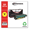 Innovera Innovera Remanufactured CE402A (M551) Toner, 6000 Page-Yield, Yellow IVR E402A