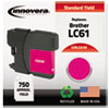 ink cartridges: Innovera Remanufactured LC61M Ink, 325 Page-Yield, Magenta