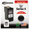 Innovera Innovera Remanufactured J5566 (Series 5) Ink, 483 Yield, Black IVR M4640