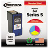 Innovera Innovera Remanufactured J5567 (Series 5) Ink, 552 Yield, Tri-Color IVR M4646