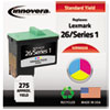 innovera: Innovera Remanufactured 10N0026 (#26) Ink, 275 Yield, Tri-Color