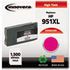 Innovera Innovera Remanufactured CN047AN (951XL), High-Yld Ink, 1500 Page-Yld, Magenta IVR N047AN