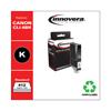 ink cartridges: Innovera Remanufactured CLI-8BK (CLI8BK) Ink, 412 Yield, Black