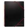 Mead Black n Red™ A4+ Ruled Filing Notebook JDK 400077473