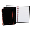 Mead Black n Red™ Twinwire Semi-Rigid Plastic-Cover Notebook Plus Pack JDK 67026