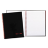 Ring Panel Link Filters Economy: Black n' Red™ Twinwire Hardcover Notebook Plus Pack