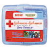 first aid kits: Johnson & Johnson® Safe Travels™ Portable First Aid Kit