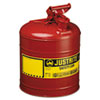 Safety storage & security carts: JUSTRITE® Safety Can