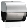 Omni Roll Towel Dispenser, 10 1/2 x 10 x 10, Smoke/Gray