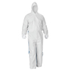Kimberly Clark Professional KleenGuard A40 Breathable Back Coverall with Thumb Hole KCC 42528
