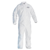 Kimberly Clark Professional KleenGuard A40 Zipper Front Liquid and Particle Protection Coveralls KCC 44317