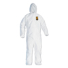 Kimberly Clark Professional KLEENGUARD A40 Elastic-Cuff and Ankles Hooded Coveralls KCC44325
