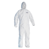 Kimberly Clark Professional KleenGuard A40 Zipper Front Liquid and Particle Protection Coveralls KCC 44327