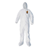 Kimberly Clark Professional KLEENGUARD A40 Elastic-Cuff, Ankle, Hood and Boot Coveralls KCC44334