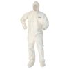 Kimberly Clark Professional A80 Elastic-Cuff Hood & Boot Coveralls KCC 45667