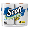 Kimberly Clark Professional Rapid-Dissolving Toilet Paper, Bath Tissue, 1-Ply, White, 231 Sheets KCC 47617