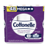 Kimberly Clark Professional Cottonelle® Ultra CleanCare Toilet Paper, Strong Bath Tissue KCC 48596
