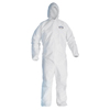 Kimberly Clark Professional A20 Elastic Back and Cuff Hooded Coveralls KCC 49114
