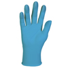 gloves: KLEENGUARD* G10 Blue Nitrile Gloves - Large