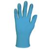 gloves: KLEENGUARD* G10 Blue Nitrile Gloves - X Large