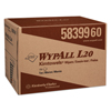 cleaning chemicals, brushes, hand wipers, sponges, squeegees: WYPALL* L20 Wipers BRAG* Box