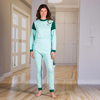 KCK Industries 4Care™ Unisex Jumpsuit with a Zipper-Back KCK 1030500XS