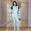KCK Industries 4Care™ Unisex Jumpsuit with a Zipper-Back KCK 1035500XXL