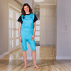 KCK Industries 4Care™ Unisex Jumpsuit with a Zipper-Back KCK 1050201M