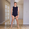 Adaptive Apparel: KCK Industries - 4Care™ Unisex Bodysuit with Snap-Fastening Crotch (Onesie)