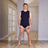 kck: KCK Industries - 4Care™ Unisex Bodysuit with Snap-Fastening Crotch (Onesie)
