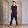 Adaptive Apparel: KCK Industries - 4Care™ Unisex Bodysuit with Zippered-Back and Long Legs