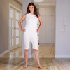 Adaptive Apparel: KCK Industries - 4Care™ Unisex Bodysuit with Short Legs and a Zippered-Back and Crotch