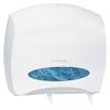 bathroom tissue, bathroom tissue dispensers: KIMBERLY-CLARK PROFESSIONAL WINDOWS JRT Jr. ESCORT Jumbo Roll Bath Tissue Dispenser