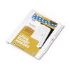 Kleer-Fax Kleer-Fax® 80000 Series Numerical Side Tab Legal Index Divider KLF 82235