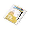 Kleer-Fax Kleer-Fax® 80000 Series Numerical Side Tab Legal Index Divider KLF 82238