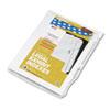 Kleer-Fax Kleer-Fax® 80000 Series Numerical Side Tab Legal Index Divider KLF 82239