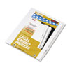 Kleer-Fax Kleer-Fax® 80000 Series Numerical Side Tab Legal Index Divider KLF 82244