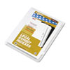 Labels, Stamps, Index Dividers: Kleer-Fax® 90000 Series Numerical Side Tab Legal Index Divider
