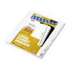 Kleer-Fax Kleer-Fax® 90000 Series Numerical Side Tab Legal Index Divider KLF 91023