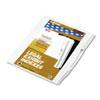 Kleer-Fax Kleer-Fax® 90000 Series Exhibit Alpha Side Tab Legal Index Divider KLF 91853