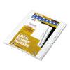 Kleer-Fax Kleer-Fax® 90000 Series Exhibit Alpha Side Tab Legal Index Divider KLF 91854