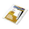 Kleer-Fax Kleer-Fax® 90000 Series Exhibit Alpha Side Tab Legal Index Divider KLF 91855