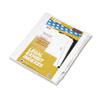 Kleer-Fax Kleer-Fax® 90000 Series Exhibit Alpha Side Tab Legal Index Divider KLF 91858