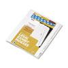 Kleer-Fax Kleer-Fax® 90000 Series Exhibit Alpha Side Tab Legal Index Divider KLF 91859
